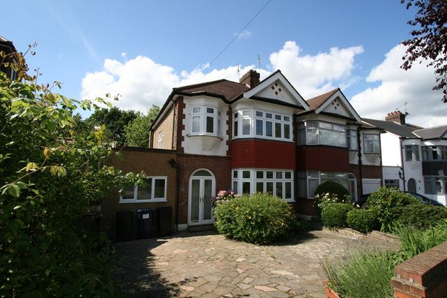 Thumbnail Semi-detached house to rent in Belmont Avenue, Cockfosters, Barnet