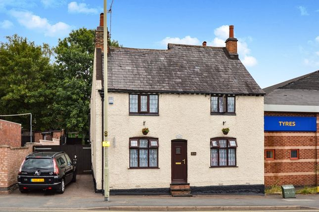 Thumbnail Detached house for sale in Bull Head Street, Wigston, Leicestershire