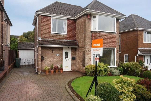 Thumbnail Detached house for sale in Orchard Rise, Blythe Bridge, Stoke-On-Trent, Staffordshire
