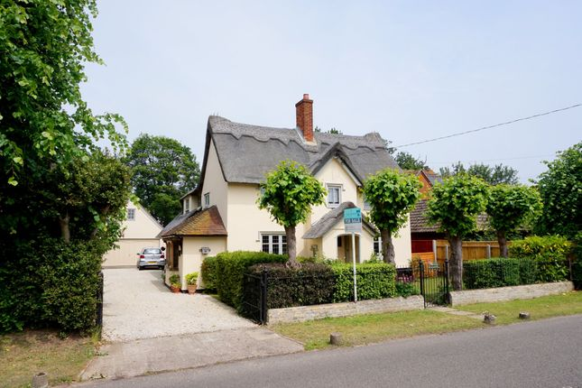 Thumbnail Detached house for sale in White Horse Road, East Bergholt, Colchester