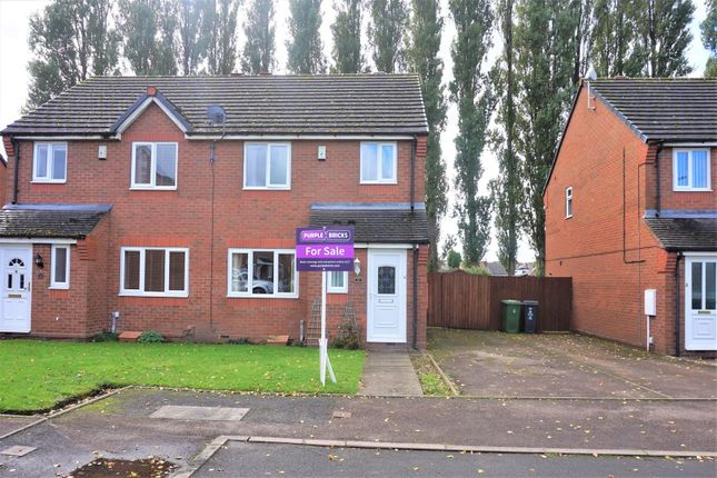 Thumbnail Semi-detached house for sale in Old Well Close, Walsall