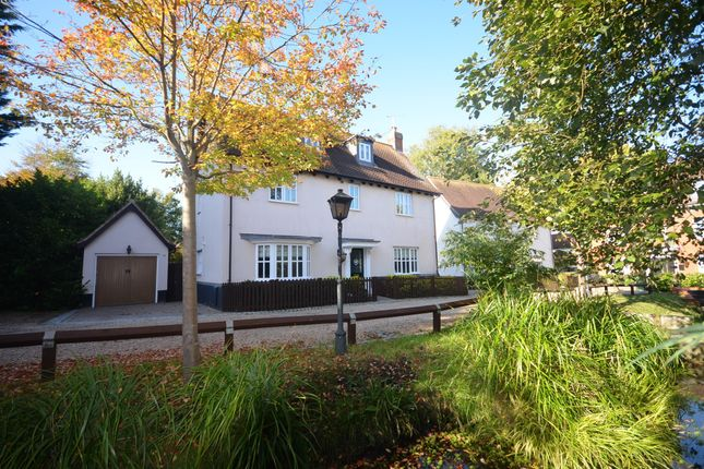Thumbnail Detached house for sale in Holly Brook, Julien Court Road, Braintree