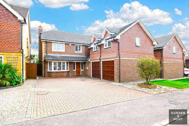 Detached house for sale in Brunel Close, Romford