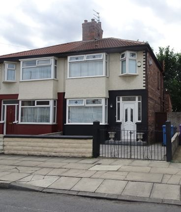 Thumbnail Semi-detached house for sale in Hilary Road, Anfield, Liverpool