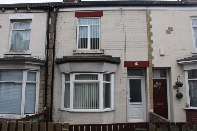 Thumbnail Terraced house to rent in Edmonton Villas, Ceylon Street, Hull