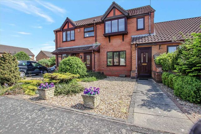 2 bed terraced house for sale in Poachers Brook, Skellingthorpe, Lincoln LN6