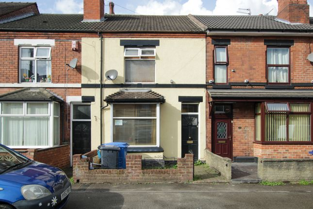 Thumbnail Terraced house for sale in South Oak Street, Burton-On-Trent