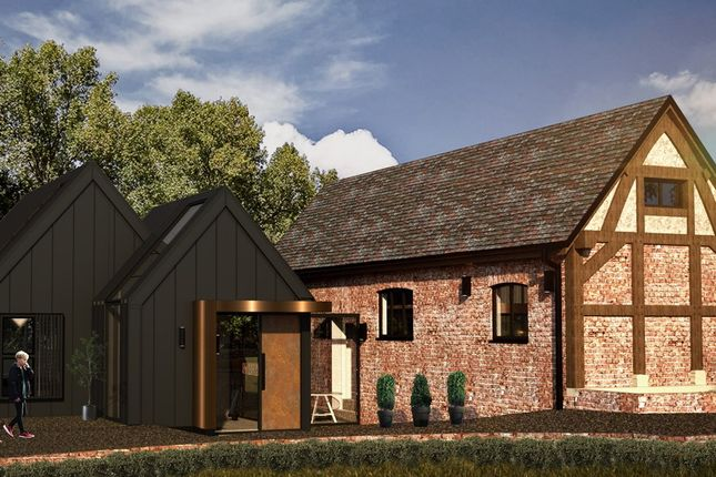 Thumbnail Barn conversion for sale in Hocker Lane, Over Alderley, Macclesfield