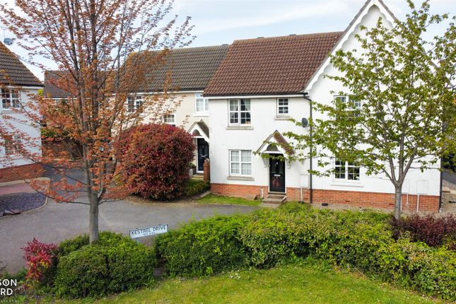 3 bed terraced house for sale in Kestrel Drive, Stowmarket IP14