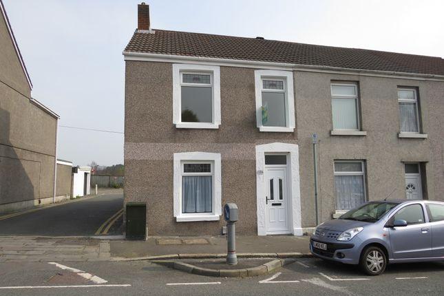 Thumbnail End terrace house for sale in Neath Road, Plasmarl, Swansea