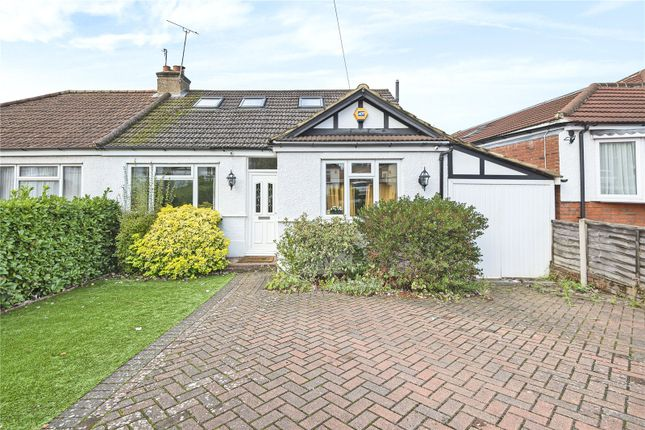 Thumbnail 3 bed bungalow for sale in Lyndhurst Gardens, Pinner, Middlesex