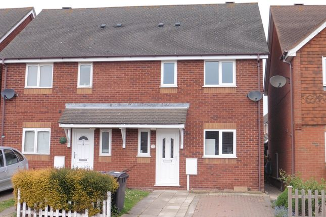 Thumbnail Semi-detached house to rent in Sutton Row, Church Lane, Deal