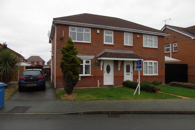 Thumbnail Semi-detached house to rent in Twigden Close, Liverpool