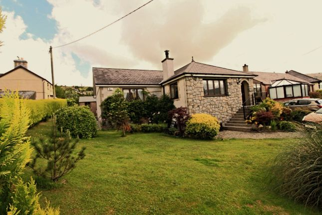 Thumbnail Detached bungalow for sale in Station Road, Talysarn