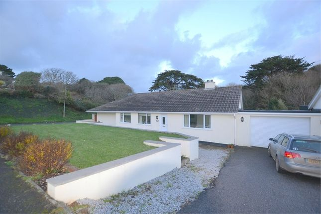 Thumbnail Detached bungalow for sale in Forthvean Crescent, Porthtowan, Truro