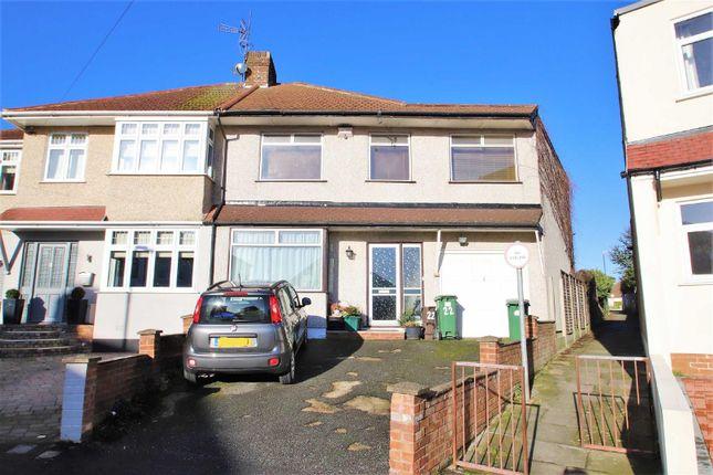 Thumbnail Semi-detached house for sale in Edwin Close, Bexleyheath