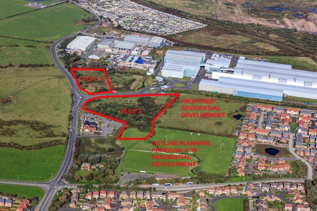 Thumbnail Land for sale in Fleetwood Road North, Thornton