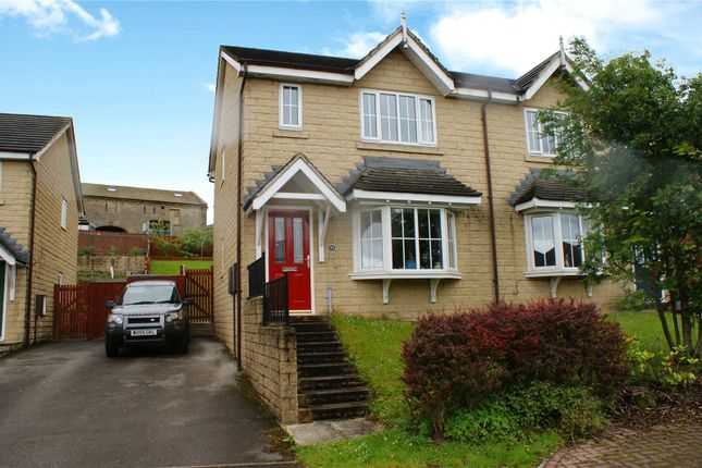 Thumbnail Semi-detached house for sale in Steadings Way, Keighley