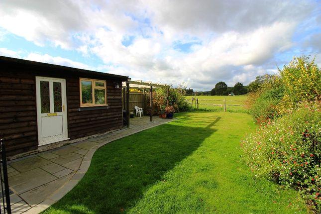Garden of Bank Cottages, Nettlestead Green ME18