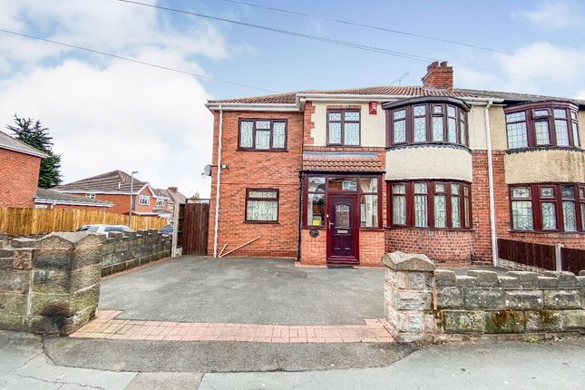 Thumbnail Semi-detached house for sale in Green Road, Dudley