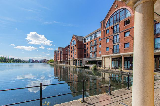 Thumbnail 2 bed flat to rent in Beaufort Court, Atlantic Wharf, Cardiff Bay