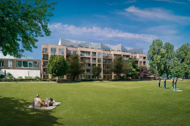 Thumbnail Flat for sale in Park Place, London