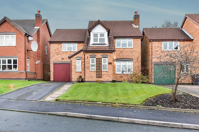 Thumbnail Detached house for sale in Wetherel Road, Burton-On-Trent