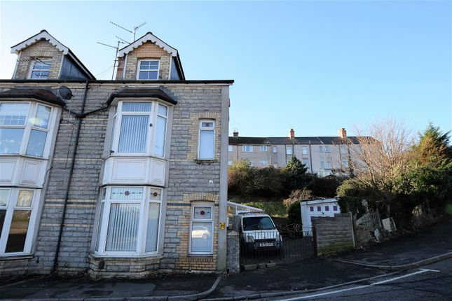 Thumbnail End terrace house for sale in Courtenay Road, Barry
