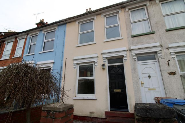 2 bed terraced house to rent in Upland Road, Ipswich IP4