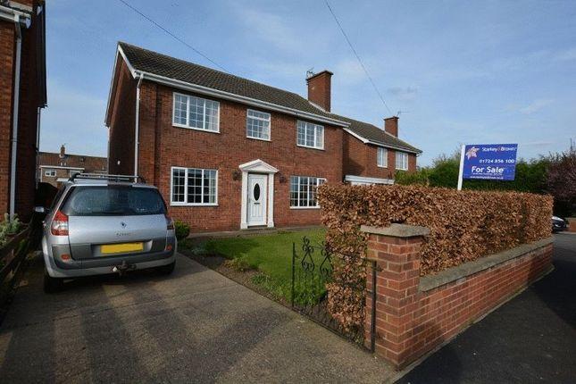 Thumbnail Detached house for sale in Mount Avenue, Winterton, Scunthorpe