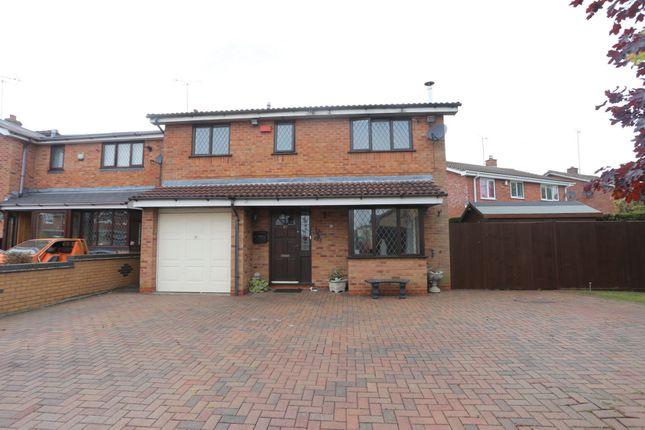Thumbnail Detached house for sale in Finchdean Close, Meir Park