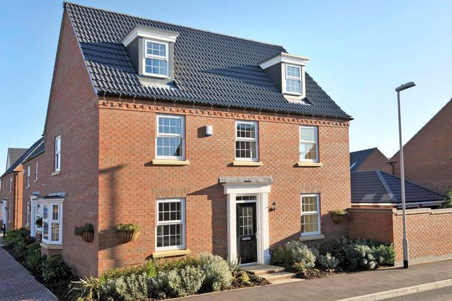 "Thumbnail Detached house for sale in ""Maddoc"" at Tranby Park, Jenny Brough Lane, Hessle"