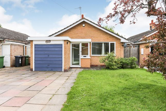 Thumbnail Detached bungalow for sale in Moorlands Drive, Shirley, Solihull