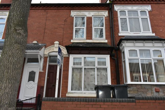 Thumbnail Terraced house to rent in Greenhill Road, Handsworth, Birmingham