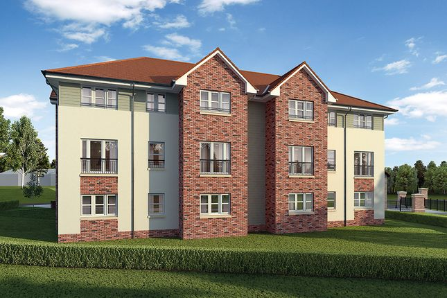 "Thumbnail Flat for sale in ""Chisholm"" at Cherrytree Gardens, Bishopton"