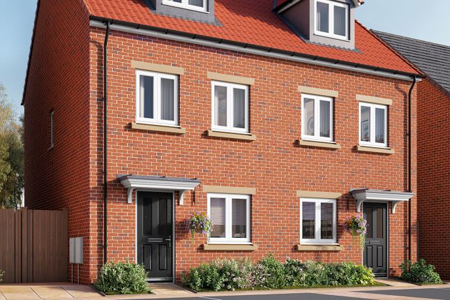 "Thumbnail Semi-detached house for sale in ""The Wyatt"" at Southfield Lane, Tockwith, York"