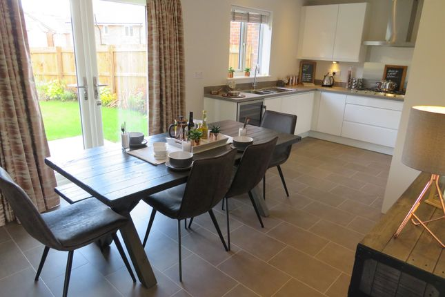 Thumbnail Detached house for sale in Pen Pentre, Sychdyn, Mold
