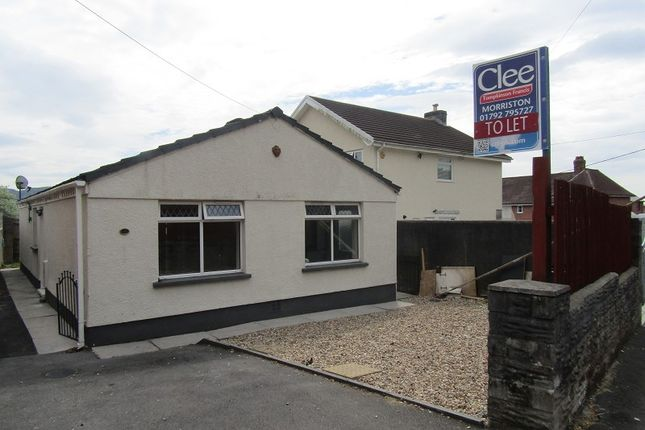 Thumbnail Bungalow to rent in Bethania Road, Clydach, Swansea, City And County Of Swansea.