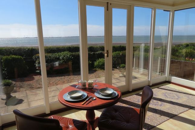 Thumbnail Detached bungalow for sale in Victoria Esplanade, West Mersea, Colchester