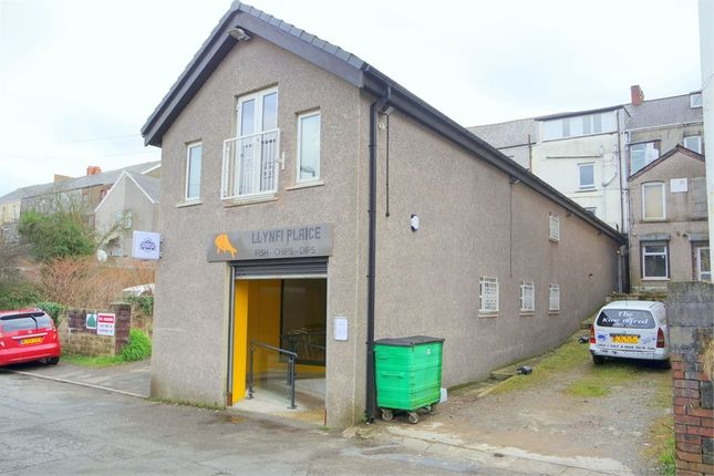 "Thumbnail Commercial property for sale in Rear Of 18 Commercial Street, Ground Floor T/A ""Llynfi Plaice"", Maesteg"