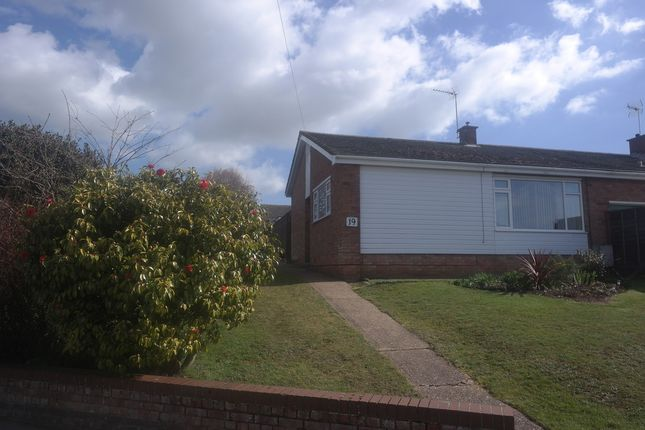 Thumbnail Semi-detached bungalow for sale in St. Dominic Road, Colchester