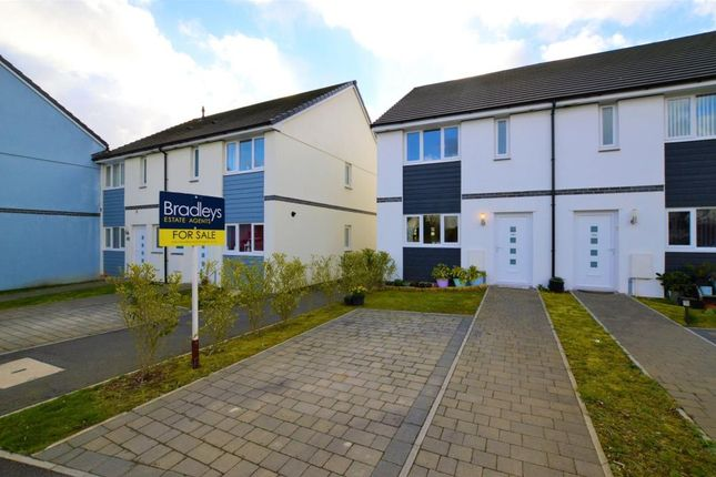 Thumbnail End terrace house for sale in Cunningham Road, Tamerton Foliot, Plymouth, Devon