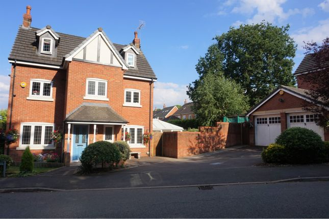 Thumbnail Detached house for sale in Hoffman Drive, Stallington, Stoke-On-Trent