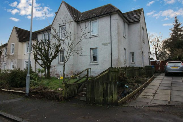 Thumbnail Flat for sale in Lesmahagow Road, Strathaven, Lanarkshire