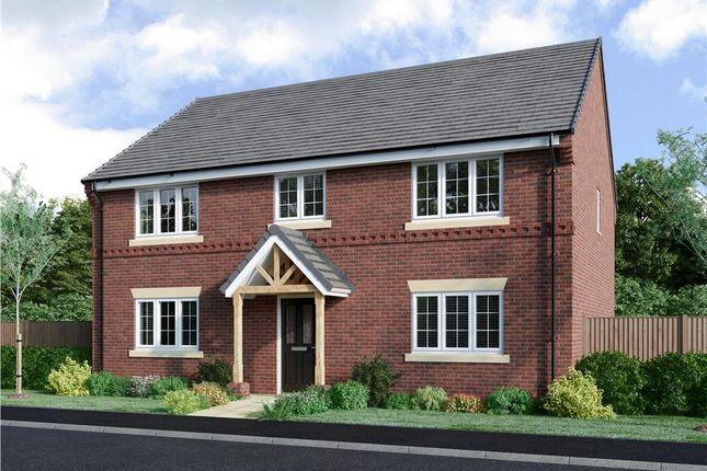"Thumbnail Detached house for sale in ""Aldington"" at Lowbrook Lane, Tidbury Green, Solihull"