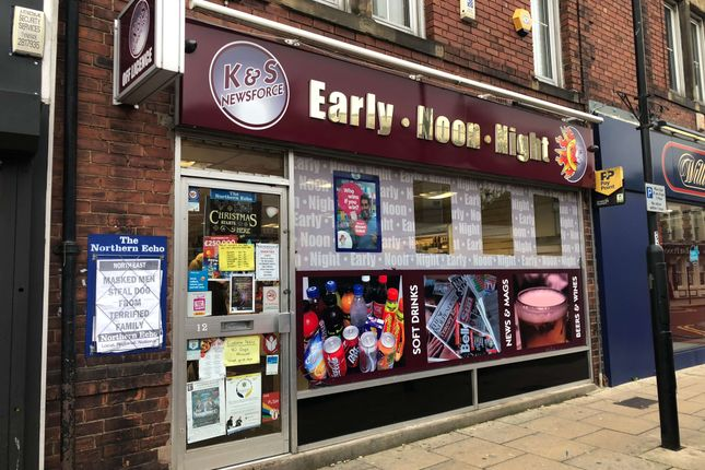 Thumbnail Retail premises for sale in Cheapside, Spennymoor