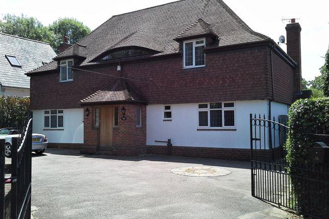 Thumbnail Detached house to rent in Castle Hill, Fawkham, Kent