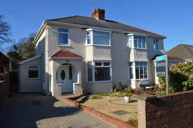 Thumbnail Semi-detached house to rent in Brookvale Road, West Cross, Swansea
