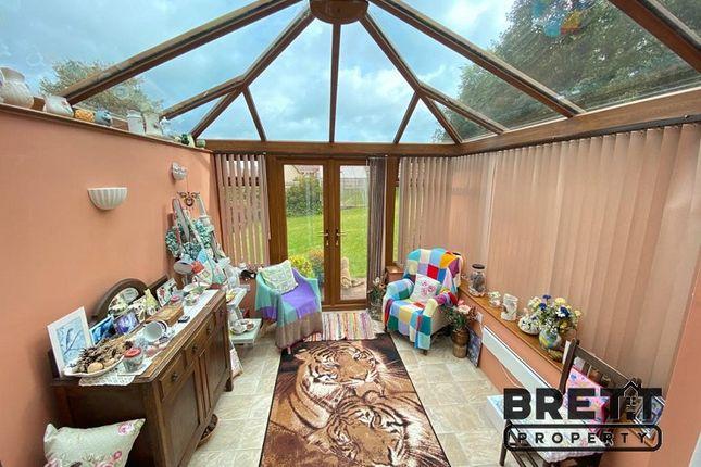 Conservatory of St Petrox Close, Pembroke, Pembrokeshire. SA71