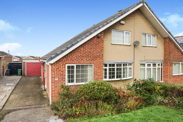 Thumbnail Semi-detached house for sale in White Lee Road, Batley